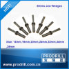 Hand Splitter Wedge and Shims for Stone Breaking