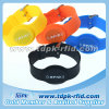 Rewearable Hotel and Payments R/O or R/W Silicone RFID Watch Wristbands with Transponder