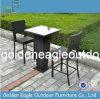 Rattan Furniture Bar Set Bar Table with Glass Top