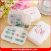 Plastic 8-Cases Pill Box (KL-9120)