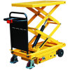 Self-Propelled Electric Hydraulic Scissor Lift Table Truck
