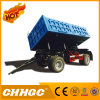 Factory Price 3 Axle Multifunctional Van-Type Side Dumping Semi Trailer