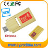 Custom Wood Card USB Flash Drive Promotional Wooden USB Pen Drive