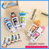 Manufacture Mini Selfie Stick, Mini Wired Lovely Carton Selfie Stick