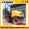 Double Drum Vibrating Hand Operated Hydraulic Road Roller, Mini Road Roller Compactor, Small Mini Road Roller (FYL-900)