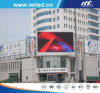Outdoor LED Screen Advertising for Bank