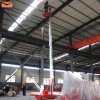 Aluminum Hydraulic Mobile Single Post Lift
