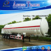 3 Axle 30t Flammable Liquid Fuel Oil Chemical Tank Semi Truck Trailer (49.9m³) (LAT9400GRY)