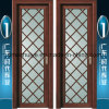 Frosted Glass Aluminium Casement Bathroom Doors for Interior Decoration