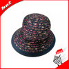 Ribbon Sun Hat Women Hat with Flower