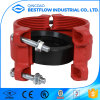Painting Ductile Iron Fitting Pipe Grooved Rigid Coupling