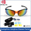Hot Cycle Motorcycle Mens Sport Glasses Polarized Interchangeable Lens Safety Bikers Sunglasses