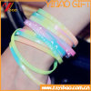 Fluorescence Rubber Wrisband and Silicone Bracelet Customed Logo (YB-HD-189)