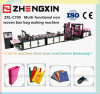 Hot Sale Nonwoven Fabric Fashion Bag Making Machine (ZXL-C700)