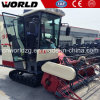 Crawler Type Paddy Rice Combine Harvester with A/C Cabin