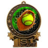 Printed Metal Craft Softball Medal for Promotion