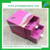 Recyclable Custom Design Rigid Paper Box with Ribbon Handle