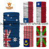 Custom Elastic Polyester National Flag Printed Seamless Bandana (25*50 CM)