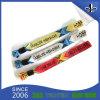 Colorful Woven Fabric Bracelet Black Plastic Lock