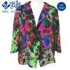 Gorgeous Colorful Pattern Longsleeve Summer Fashion Ladies Blouse