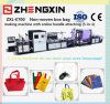 Yearly Non Woven Fabric Leisure Bag Making Machine Price (ZXL-E700)