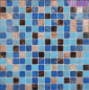 Blue Building Material Mosaic Tiles Glass Mosaic for Swimming Pool