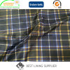 100 Polyester Big Check Printed Lining Jacket Coat Lining