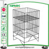 Easy Fold Pop up Promotion Table Wire Basket