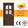 Interior PVC Door with Glass Design (SC-P036)
