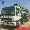 37m 2003 26ton/10cylinders 8*4-LHD-Drive Concrete-Transform SGS/Ce Used Isuzu-Chassis Schwing-Pump Truck