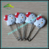 Lovely Hello Kitty Head Shaped Baby Diaper Safety Pin