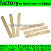 "150X18X1.6mm 6"" Long Wooden Tongue Depressor Top Quality"