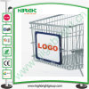Shopping Trolley Frame Board with Advertising Paper