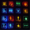 LED Aluminum Light Emergency Light WiFi Toilet Sign Emergency Exit Sign