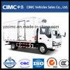 Mobile Catering Isuzu Refrigerated Trucks Food Van Truck Sale