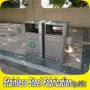 Stainless Steel Garbage Bin Recycle Trash Ccan