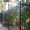 Black Powder Coted Spear Top Steel Fence with Security