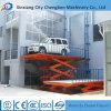 Car Used Lifting Equipment Hydraulic Stationary Scissor Lift of Aerial Platform