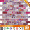 Glass Mosaic Pink Color for Bathroom Wall (L824001)