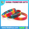 Both Sides Fashion Comouflage Silicone Wristband with Debossed and Printed (TH-8534)