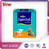 2016 High Quality High Absorption Soft and Dry Clothlike Disposable Sleepy Baby Diapers OEM Factory