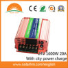 (HM-24-1600Y) 24V1600W Solar Inverter with 20A Controller Inside/ City Power Charge