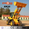 Qingdao Everun Er35 Wheel Type Construction Loader with Pallet Bucket