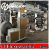 Economical 6 Color Plastic Film Flexographic Ci Machine
