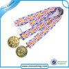 High Quality Lanyard Metal Medal Lanyard for Souvenir Gift