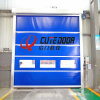 High Frequency Motor System High Speed PVC Stainless Steel Industrial Roll up Door