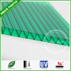 10mm Green Decorative Material Twinwall Polycarbonate Hollow Sheet Roofing Sheet Price