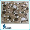 Modern Mixed Round Marble Mosaic Tiles