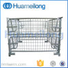 Stacking Collapsible Metal Pallet Cage