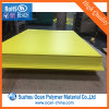 Opaque Yellow Glossy Rigid PVC Sheet for Offset Printing Price Tags